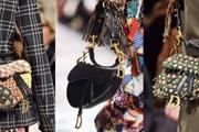 """Chiếc túi Saddle hình yên ngựa, """"hot hit"""" một thời của Dior trở lại"""