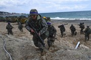 Đảng đối lập Hàn Quốc chỉ trích việc giảm quy mô tập trận chung Mỹ-Hàn