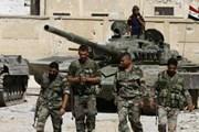 Quân đội Syria tấn công nhằm vào tổ chức IS tại phía Nam Damascus