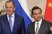 Ngoại trưởng Nga-Trung trao đổi về cuộc gặp thượng đỉnh song phương
