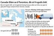 [Inforgraphics] Vụ đâm xe ở Canada: Đã có 9 người thiệt mạng