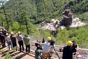 Triều Tiên công bố hình ảnh phá bỏ bãi thử hạt nhân Punggye-ri