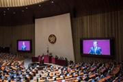 Tổng thống Hàn Quốc lấy làm tiếc vì không thể sửa đổi hiến pháp