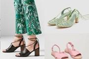 15 mẫu sandals cực hot có thể phối với nhiều trang phục