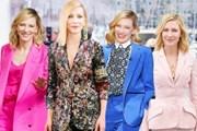 """Diễn viên Cate Blanchett - """"Bà hoàng"""" của những bộ suit thời thượng"""