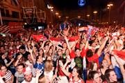 World Cup 2018: Người dân Croatia đổ ra đường mừng chiến thắng