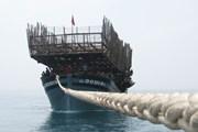 Quảng Nam: Cứu hộ tàu câu mực gặp nạn ở vùng biển Trường Sa