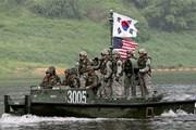 Mỹ ngừng vô hạn định các cuộc tập trận có lựa chọn với Hàn Quốc