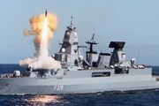 Tàu chiến của hải quân Đức bốc cháy khi tham gia tập trận tại Biển Bắc