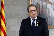 """Lãnh đạo vùng Catalonia """"tuyên chiến"""" với Hoàng gia Tây Ban Nha"""