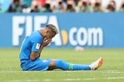 """Neymar bị chỉ trích vì ''khóc nhè"""" sau trận gặp tuyển Costa Rica"""