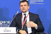 Phó Thủ tướng Akimov là Chủ tịch Ủy ban liên chính phủ Nga-Việt