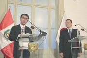 Nhật Bản-Peru nỗ lực thúc đẩy sớm thực thi hiệp định CPTPP