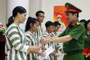 Hà Nội tha tù trước thời hạn có điều kiện cho 34 phạm nhân