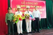 Bổ nhiệm 2 lãnh đạo PCCC làm phó giám đốc công an Đà Nẵng