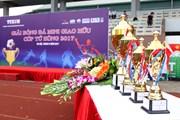 Sôi động giải bóng đá cúp Tứ Hùng Thông tấn xã Việt Nam 2017