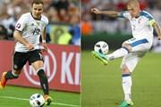 Trận Đức-Slovakia: Những thông tin trước giờ bóng lăn
