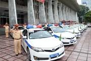 Cảnh sát giao thông xuất quân bảo đảm giao thông tuần lễ cấp cao APEC