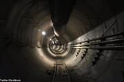 Elon Musk chia sẻ hình ảnh đầu tiên về siêu đường hầm giao thông