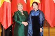 Chủ tịch Quốc hội Nguyễn Thị Kim Ngân hội kiến Tổng thống Chile