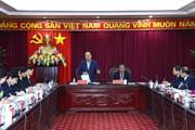 Thủ tướng Chính phủ Nguyễn Xuân Phúc làm việc với tỉnh Bắc Kạn