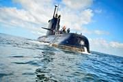 Argentina phát hiện tiếng động có thể từ tàu ngầm mất tín hiệu