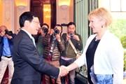 Việt Nam-Thụy Điển thúc đẩy thiết lập quan hệ Đối tác chiến lược ngành