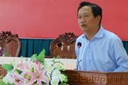 Bộ Nội vụ thông tin về việc thất lạc hồ sơ Trịnh Xuân Thanh
