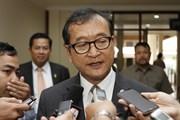 Campuchia kết tội ông Sam Rainsy về tội phỉ báng Thủ tướng Hun Sen