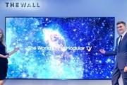 """Samsung gây choáng ngợp với mẫu tivi LED """"Bức tường"""" khổng lồ"""