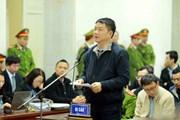 Nói lời sau cùng, ông Đinh La Thăng xin lỗi Đảng, Nhà nước, nhân dân