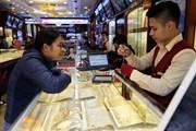 Thị trường vàng trong nước trầm lắng do giới đầu tư còn nghe ngóng