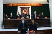 Hình ảnh Tòa tuyên án bị cáo Trịnh Xuân Thanh và các đồng phạm