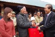 Phó Thủ tướng Trương Hòa Bình thăm đồng bào bị mưa lũ ở Đà Bắc