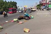Xe khách vượt đèn đỏ gây tai nạn, ít nhất 6 người bị thương nặng