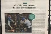 Báo Pháp đánh giá cao những thành tựu phát triển kinh tế của Việt Nam