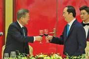 Tổng thống Hàn Quốc kết thúc chuyến thăm cấp Nhà nước tới Việt Nam