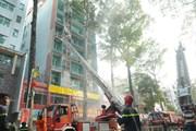 Suýt xảy ra thảm họa cháy nhà cao tầng ở Thành phố Hồ Chí Minh