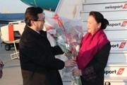 Chủ tịch Quốc hội Nguyễn Thị Kim Ngân đến Geneva tham dự IPU-138