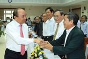 Thủ tướng gặp mặt cán bộ lão thành tỉnh Quảng Nam qua các thời kỳ