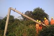 Toàn huyện Điện Biên Đông mất điện do người dân làm đứt đường dây 35kV