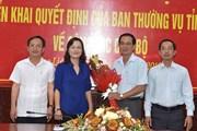 Ông Lê Thanh Hùng giữ chức Trưởng ban Tổ chức Tỉnh ủy Bạc Liêu