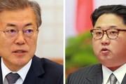 Hai miền Triều Tiên nhất trí tổ chức gặp thượng đỉnh vào sáng 27/4