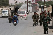 Quân đội Syria tấn công phe nổi dậy ở phía Nam Damascus