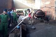 Vụ vỏ càphê nhuộm bằng pin: Khám xét kho hàng công ty Thảo Dung