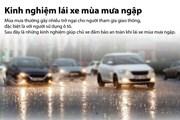 Bạn cần chú ý những điều gì khi lái xe trong mùa mưa lớn ngập nước