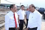 Thủ tướng thăm Tổ hợp nhà máy sản xuất ôtô, xe máy điện VinFast