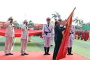 Hình ảnh Thủ tướng dự kỷ niệm 50 năm Ngày thành lập Học viện Cảnh sát