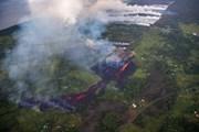 Dung nham núi lửa Kilauea đe dọa nhà máy điện địa nhiệt tại Hawaii