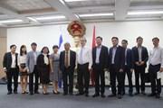 Bí thư Thành ủy Nguyễn Thiện Nhân thăm Sứ quán Việt Nam tại Israel